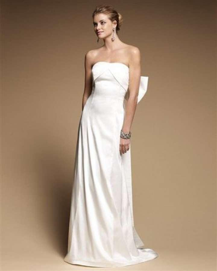 White house black market alexandria strapless bow for White house black market wedding dresses