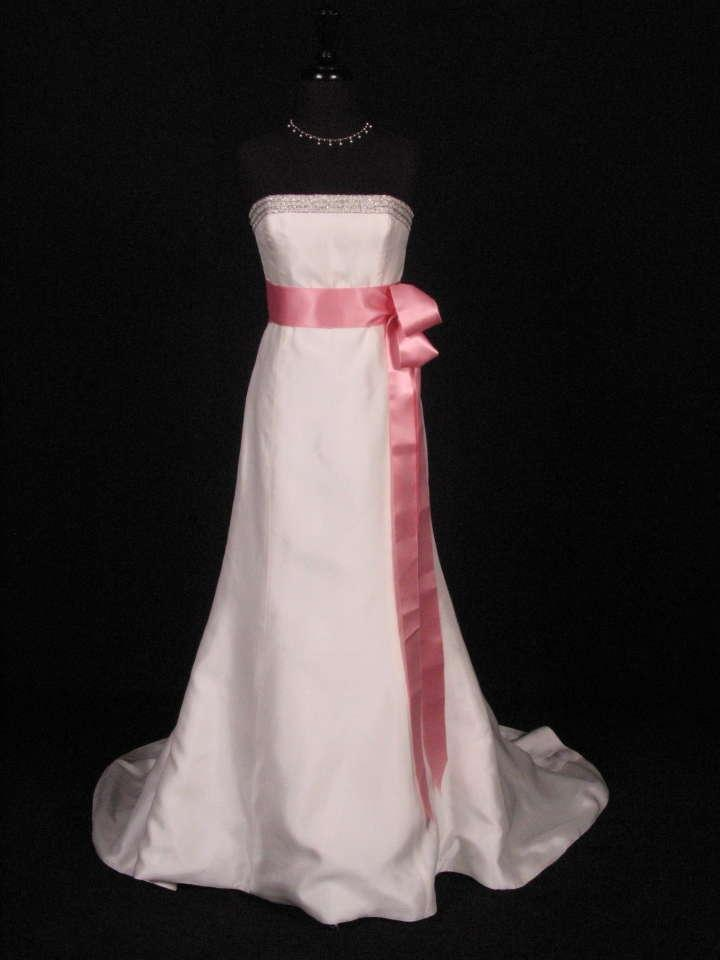 Pink Wedding Dress Dream Meaning : Your dream dress dusty rose pink ribbon sash quot tradesy weddings