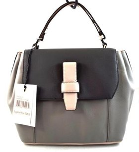 Ivanka Trump Leather Gramercy Satchel in Gray