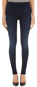 J Brand Stocking Legging Jegging Denim Dark Wash Skinny Jeans-Dark Rinse
