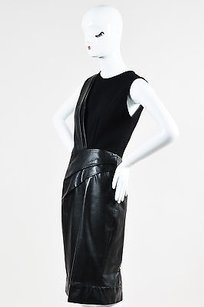 J. Mendel Leather Panel Dress