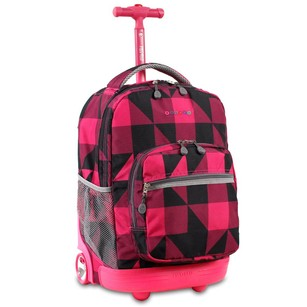 J World NY Block Pink Travel Bag