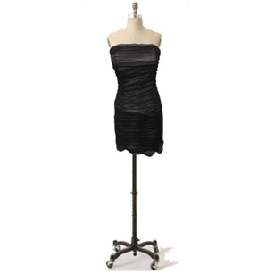 Jack by BB Dakota Sheer Ruched Dress