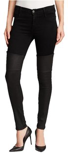 James Jeans Faux Leather Skinny Jeans-Dark Rinse