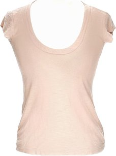 James Perse Raglan Scoop T Shirt Blush