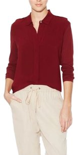 James Perse James Button Down Shirt Sire (dark red)