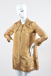 Jasmine Di Milo short dress Gold Silk on Tradesy