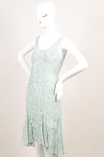Jason Wu short dress Green White Silk on Tradesy