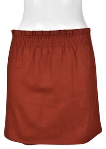 J.Crew J Crew Womens Rust A Line Skirt Red