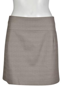 J.Crew Womens Casual Above Knee Skirt Taupe Brown