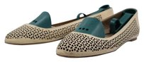 J.Crew Womens Cut Out Ballet Causal Slip On Tan Flats