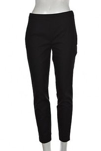 J.Crew Womens Soft Cropped Solid Casual Trousers Capri/Cropped Pants Black