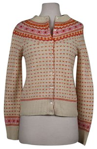 J.Crew Crew Womens Knit Cardigan Long Sleeve Wool Shir Sweater