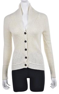 J.Crew Womens Cardigan Textured Wool Casual Sweater