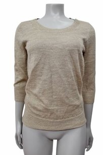 J.Crew Shimmer Bow Crewneck Sweater