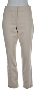 J.Crew Campbell Womens Pale Dress Wool Trousers Career Pants