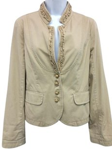 J.Crew J. Crew Cotton KHAKI Jacket