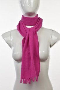 J.Crew J Crew Womens Pink Textured Scarf Os Wool Casual