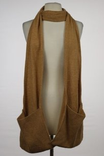 J.Crew J Crew Womens Tan Scarf Os Wool Casual Outer Wear