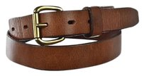 J.Crew J Crew Womens Brown Width Belt Leather Distressed Casual