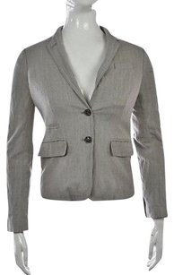 J.Crew J Crew Womens Gray Speckled Blazer 00 Long Sleeve Career Jacket Wtw
