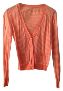 J.Crew Linen Cotton Striped Cardigan