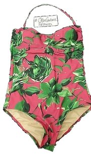 J.Crew ,J.crew,Designer,Painters,Floral,Flower,Tropical,Pink,One,Piece,Swimsuit