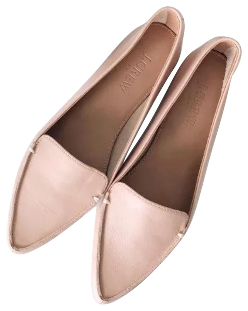 J.Crew Pink Edie In Coral 12 Shell Flats Size US 12 Coral Regular (M, B) 0bfe78