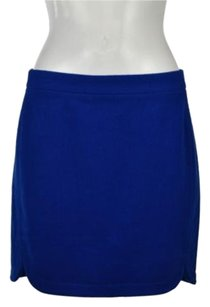 J.Crew J Crew Womens Straight Skirt Blue