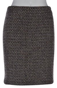 J.Crew J Crew Womens Woven Skirt Brown