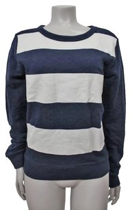 J.Crew Color Block Rugby Top Navy white