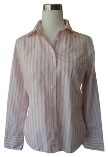 J.Crew Work Clothes Pinstriped Button Down Shirt