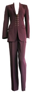 Jean-Paul Gaultier PARIS Brass hook 2pc. pant suit