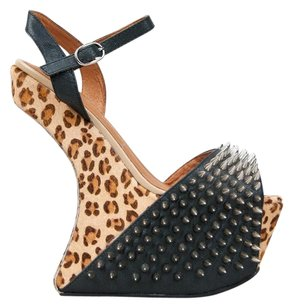 Jeffrey Campbell Multi/Print Wedges