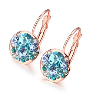 Jenny Jewelry Real Gold Plated Earrings For Women