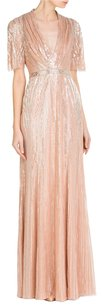 Jenny Packham Sequin Embellishment Dress