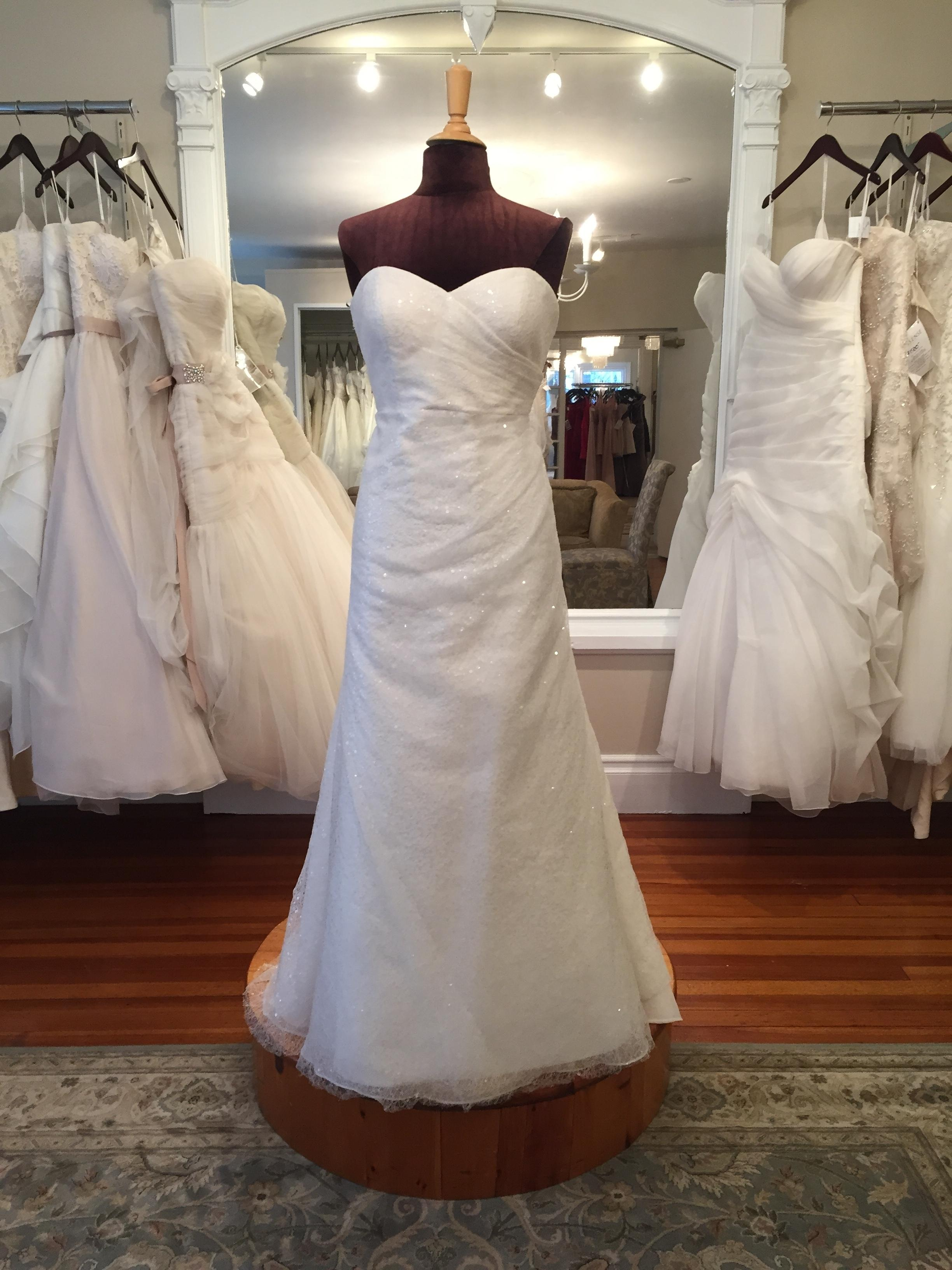 Jenny Yoo Ivory Spider Tulle With Sequins Taylor Wedding Dress Size 8 (M)    Tradesy
