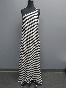 Jessica Howard Striped One Full Length 3615a Dress