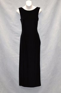 Black Maxi Dress by Jessica McClintock Usa Maxi