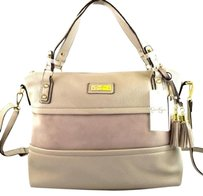 Jessica Simpson Vesey Grey Satchel in Gray