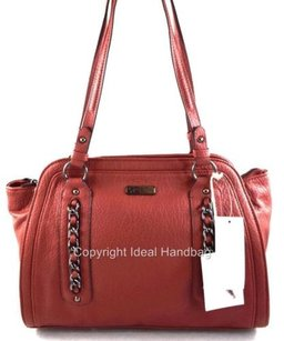 Jessica Simpson Tilda Satchel in Red