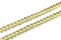 10k Heavy 9.44mm Yellow Gold Miami Cuban Link Franco Chain Necklace Inch