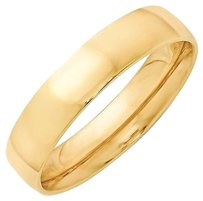 5mm,10k,Yellow,Gold,Comfort,Fit,Or,Half,Round,Wedding,Ring,Band,Size,5-13