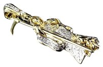 Jewelry Unlimited ,10k,Yellow,Gold,Genuine,Diamond,3d,Grim,Reaper,Charm,Pendant,0.50ct,1.50