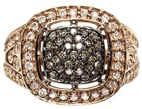 Jewelry Unlimited 10k,Ladies,Rose,Gold,Brown,White,Diamond,Fashion,Engagement,Ring,1.0,Ct