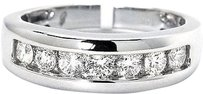 Jewelry Unlimited Mens,Channel,Set,Round,Cut,Diamond,7,Mm,Wedding,Band,Ring,In,14k,White,Gold,1,Ct