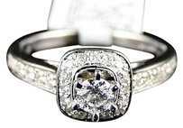 Jewelry Unlimited 14k,Ladies,White,Gold,Round,Diamond,Solitaire,Bridal,Engagement,Ring,.51,Ct