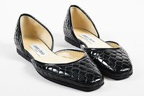 Jimmy Choo Quilted Black Flats