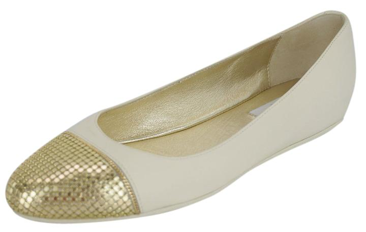 sale huge surprise Jimmy Choo Metal Cap-Toe Flats cheap price for sale FSJsYj5w