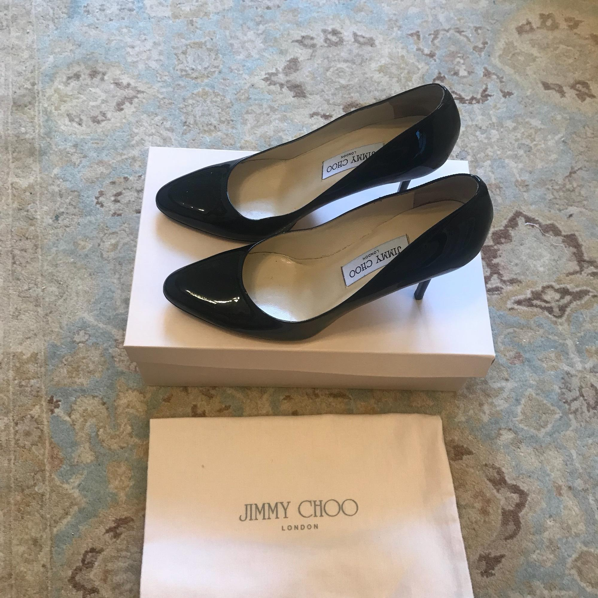 61a634dfdf54 ... Jimmy Choo Black Gilbert Pumps Size US US US 9 Regular (M